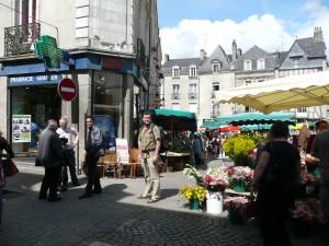 al in streetmarket, Vannes