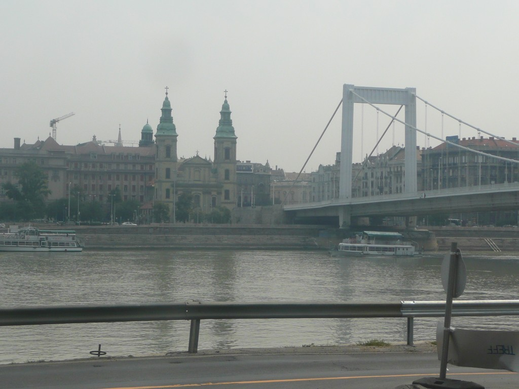 Bridge over danube - Blue, i hear you ask?